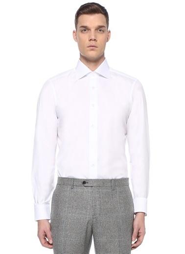 Fray Gömlek Beyaz